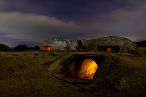 bunker de la guerra civil en brunete, madrid