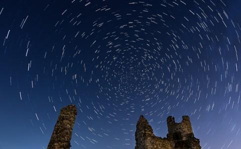 Circunpolar en el castillo de caudilla, Toledo