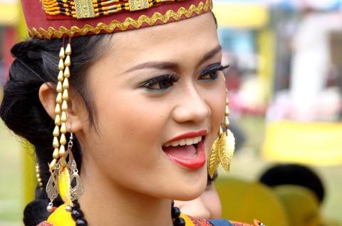 Traje Regional de mujer, Indonesia